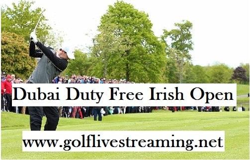 Dubai Duty Free Irish Open live