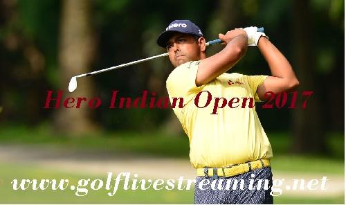 Hero Indian Open 2017 live