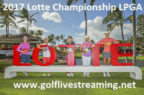 Lotte Championship live