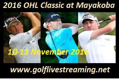 OHL Classic at Mayakoba live