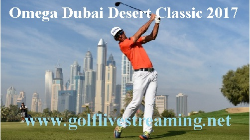 Omega Dubai Desert Classic live