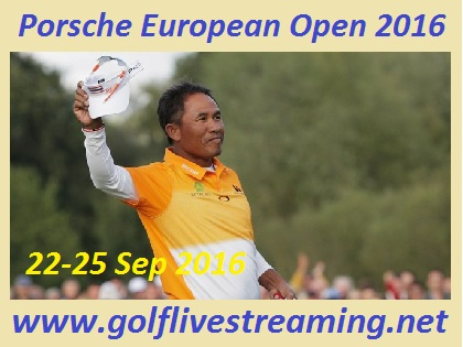 Porsche European Open streaming