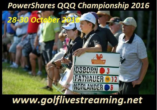 PowerShares QQQ Championship live