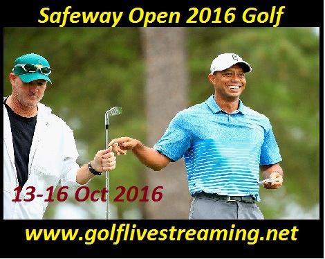 Safeway Open 2016 golf live