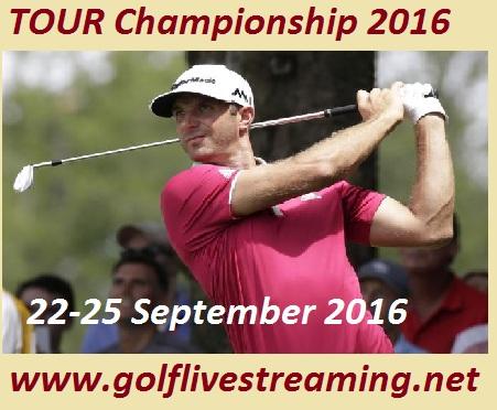 TOUR Championship 2016 live
