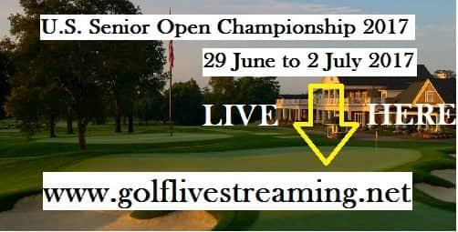 U.S. Senior Open Championship Live