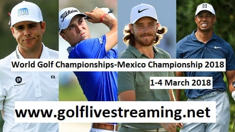 World Golf Championships-Mexico Championship