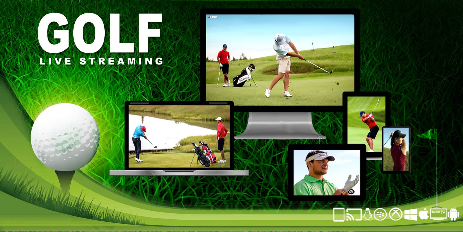 golf live streaming